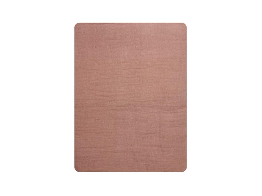drap plat gaze rose des sables