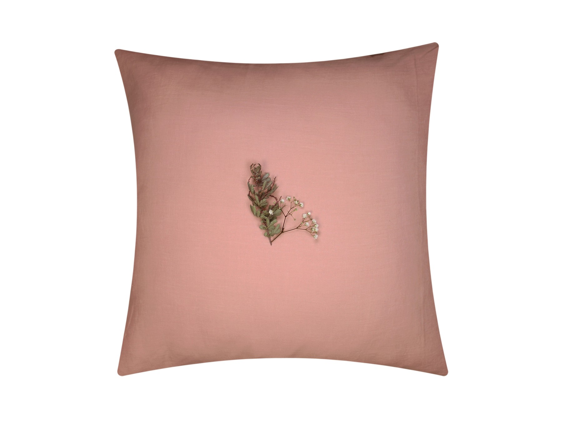 taie d oreiller gaze coton bio rose des sables